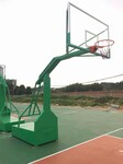 广西南宁市义秦宏体育用品有限公司出售LT电动液压篮球架图片
