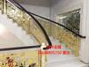 铜艺弧形楼梯护栏大厅屏风旋转楼梯扶手厂家