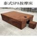 泰式按摩床加宽spa床1.2米宽理疗床足浴桑拿会所沙发