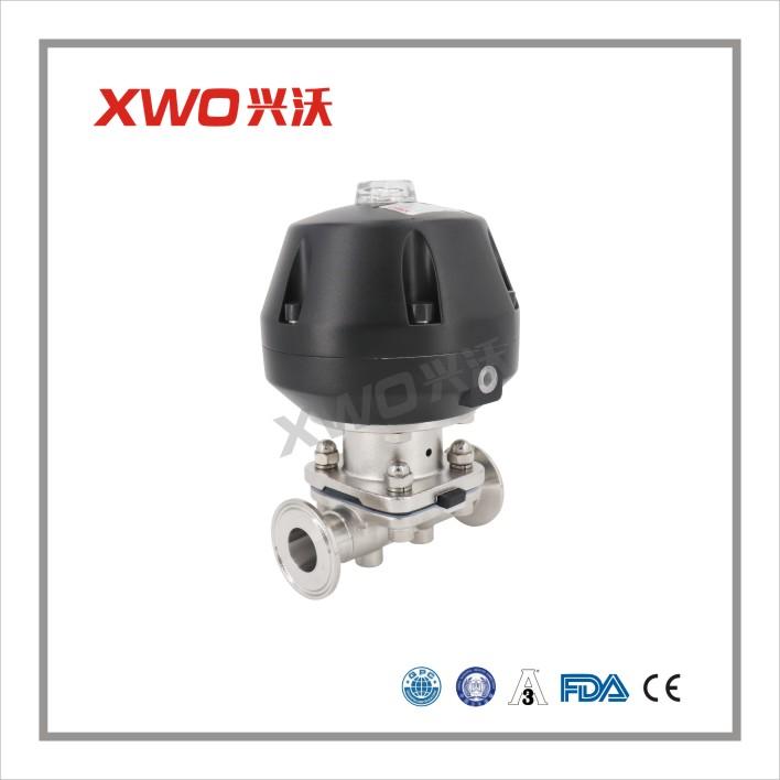 兴沃科技卫生级气动隔膜阀