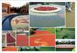 彩色透水混凝土+透水地坪材料+透水地坪施工