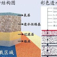上海欢乐颂小区透水艺术地坪、彩色混凝土防滑路面