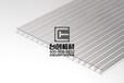 夏縣蜂窩陽光板圖片米字型PC陽光板優質服務