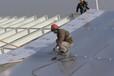 淮北市耐力板雨棚聲音大嗎藍色陽光板代直銷