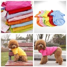 狗狗衣服春夏装宠物POLO衬衫宠物衬衣泰迪宠物犬衣服图片