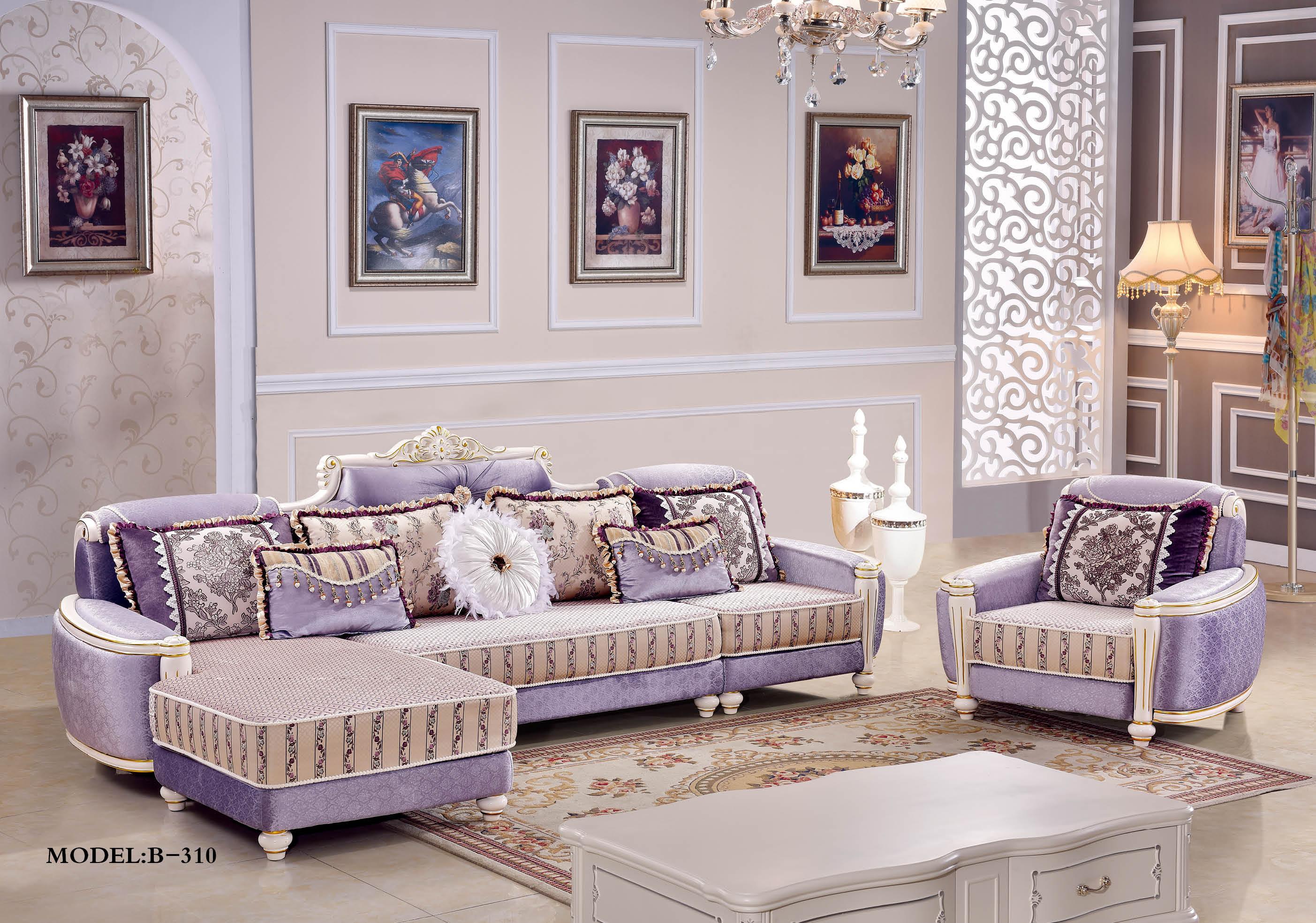 皮欧式沙发图片