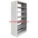 全钢单柱书架单立柱铁书架铁皮单柱单面双面书架可定制