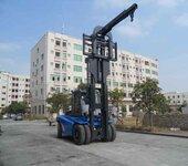 供应华南重工120系列三节门架12吨叉车带吊臂大批量出口12吨重型叉车