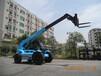 华南重工HNT35-4伸缩臂叉车工地越野多功能伸缩臂叉装车