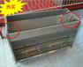 猪用304不锈钢料槽面双10孔育肥猪使用