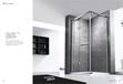 家用卫浴批发中山雅阁奢华不锈钢淋浴房