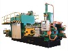 意美德500T小型铝挤压机生产薄料型材