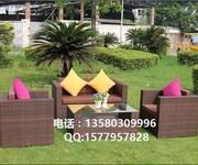济宁酒店藤桌椅泰安藤艺桌椅日照园林藤餐桌椅图片