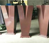 工艺加工不锈钢花盆系列产品定做户外不锈钢锥形大花盆