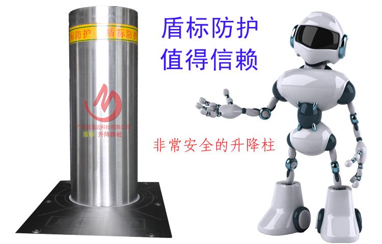 自动升降柱-一种可通过远程遥控控制液压电机升降的防护路桩或路障