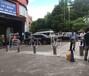 商业中心道路拦车防护升降柱不锈钢警示灯柱升降拦车