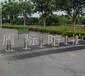 自动升降柱防护路桩厂家路障柱带警示灯