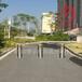 旅游区车道拦车防护路桩自动升降拦车柱不锈钢升降柱