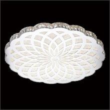 现代简约吸顶灯,圆形吸顶灯,温馨客厅卧室水晶吸顶灯,led水晶无极调光灯具