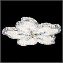 时尚吸顶灯,酒店餐厅吸顶灯,温馨艺术个性不锈钢led水晶吸顶灯