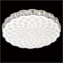 时尚圆形吸顶灯,现代简约吸顶灯,客厅餐厅led水晶吸顶灯