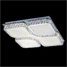 led方形酒店房间时尚吸顶灯K9水晶led卧室客厅现代水晶吸顶灯