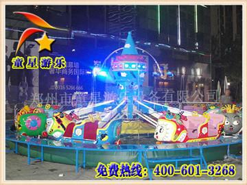 童星游乐儿童户外游乐设备自控喜羊羊游乐设备人气爆棚