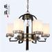 仿古新中式吊灯现代中式吊灯圆形卧室新中式吊灯批发厂家