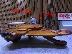 老挝花梨整体树根雕刻茶几功夫泡茶桌茶台茶海茶道汉武木业金丝楠木