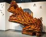 老挝花梨万马奔腾根雕木雕工艺品树根整体雕刻大型摆件汉武木业动物花鸟雕像