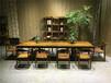奥坎花梨实木大板家具办公桌老板桌书桌写字台画案大班桌会议桌吧台前台桌
