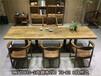 非洲鸡翅木实木大板书桌写字台画案老板桌大班桌办公桌茶桌茶台茶几电脑桌会议桌前台桌