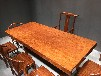 原木巴西花梨实木大板整块实木办公桌会议桌书桌茶桌茶台画案大班台老板桌写字台