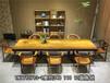 奥坎花梨整块实木办公桌会议桌书桌茶桌大班台老板桌写字台吧台培训桌大型办公家具