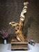 崖柏根雕木雕作品仙女散花红豆杉金丝楠木树根整体雕刻摆件工艺品动物人物雕像山水田园