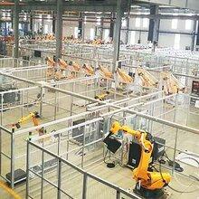 苏州工业铝型材厂家定制车间安全防护围栏图片