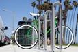 日本研發雙層自行車停車架地鐵口自行車