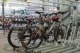 定制雙層自行車架雙層自行車停車架。智能鎖樁共享單車停車設備
