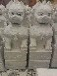 墓地摆件一米石狮子批发价格专业生产批发石狮子的厂