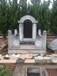 石墓碑石碑定做江西星子县石墓碑生产厂家石材香炉