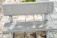 石材桌凳批发厂家供应公园条凳防腐木石椅石靠背椅