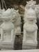 花岗岩白麻石狮子批发价格石材狮子专业生产厂家石雕麒麟