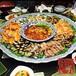 海鲜大瓷盘火锅大咖盘陶瓷瓷盘厂家直销