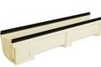 供应海南雨水篦子树脂排水沟线性树脂排水沟尺寸采购铸铁盖板树脂排水沟最新价格杰袖分公司供应