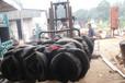 工厂轮胎液压打包机迪拜费旧轮胎打包机中小型汽车压缩轮胎打包机