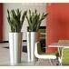 镜面不锈钢花盆厂家定制304不锈钢创意景观花盆