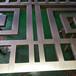 不銹鋼屏風的高度酒店玄關隔斷定制中式