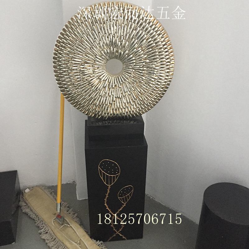 金属古铜飞马摆件办公室客厅书桌装饰品金属工艺品样板间摆设