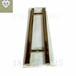 玻璃门拉手304不锈钢浴室门把手欧式现代高档玫瑰金金属拉手