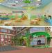 北京幼儿园设计公司早教机构装修设计幼儿园装修设计技巧之幼儿园入口设计